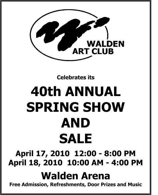 Spring show and sale