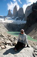 Vasilisa at Las Torres (Torres Del Paine, Chile)