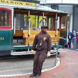 SF's Cable Car - at Powell Street station