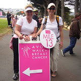 Linda & Andrea have reached MIle 13 on Day 2
