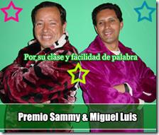 Premio Samy y miguel luis