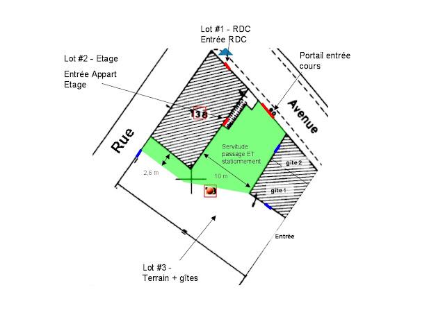 servitude de passage et de stationnement voisinage question 152555. Black Bedroom Furniture Sets. Home Design Ideas