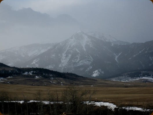 Wintery Boone Mtn