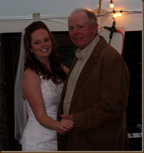 Wedding Bonnie and her Dad