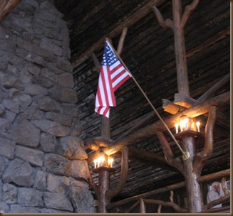 Old Glory in OF Inn