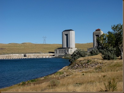 Fort Peck cooling towers