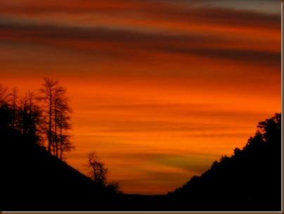 Oct going to Billings sunrise