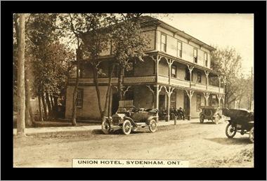 Sydenham Ontario circa 1927