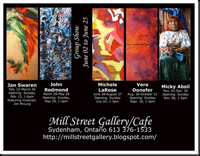 Mill Street Gallery and Cafe 2011 millstreet poster