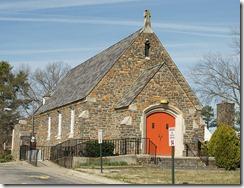 Former Holy Cross Catholic Church at NCCU