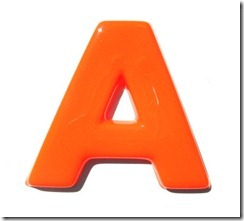 moulded-letter-a-orange