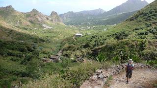 Wanderung von Praia Branca nach Faja de Cima, Sao Nicolau