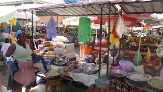 Markt von Praia, Santiago.