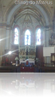 Altar da Catedral de Lages