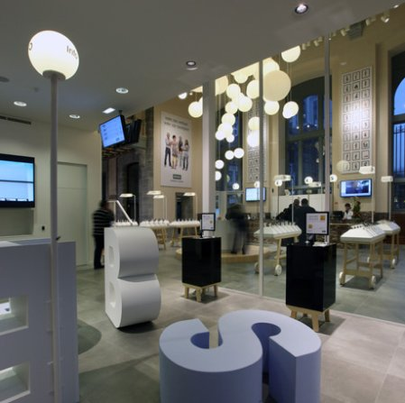 Mobile shop in Belgium