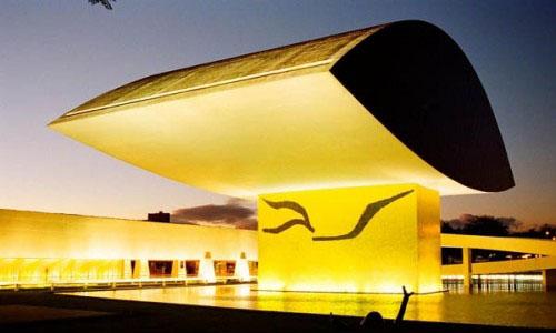 Oscar Niemeyer Museum, Curitiba, Brazil