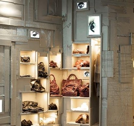 New Vintage Interior of Parisian Shop