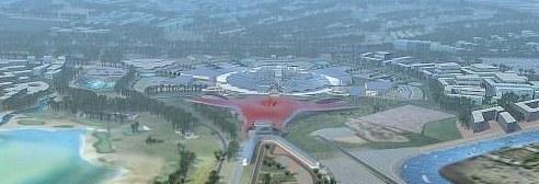 Yas Island + Ferrari = Ferrari World Abu Dhabi