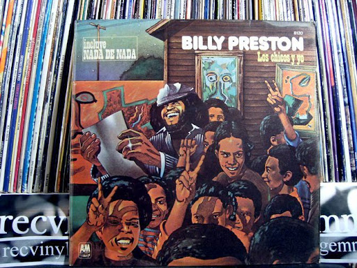 Preston,Billy Los Chicos Y Yo LP