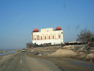 President Casino Barge After Katrina