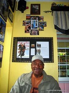 Odel at Panini Pete's in Fairhope.
