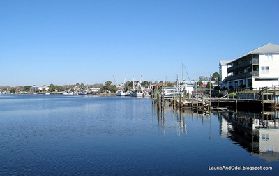Carrabelle along the river