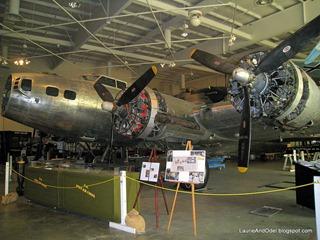 B-17 being restored.