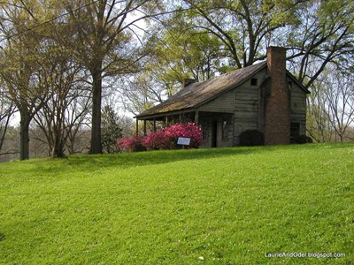 Yellow Pine House at Grand Gulf State Park, MS in 2005