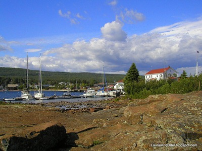 The harbor at Grand Marais, MN