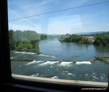Crossing the Willamette south of Eugene