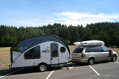 Alto trailer, a pop-up teardrop manufactured in Canada