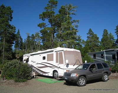 Site 10 Florence Elks RV Park