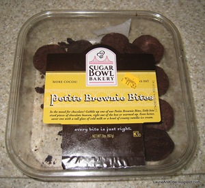 Petite Brownie Bites, those fabulous brownies.
