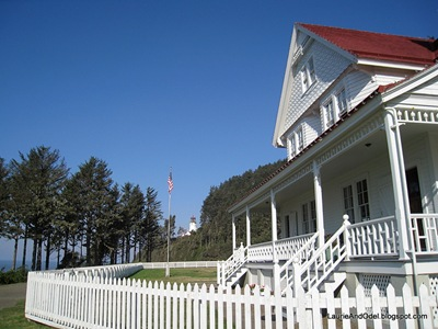Lightkeepers house, now a bed and breakfast