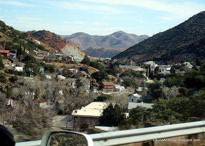 First glimpse of Bisbee.