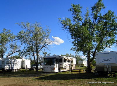 Our Site at Green Valley in Glendive