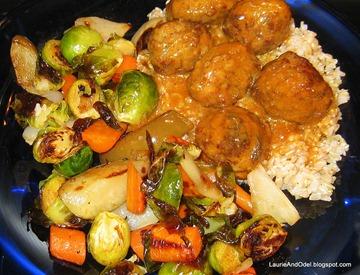 Odel's dinner plate