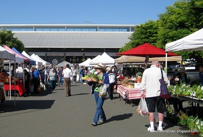Morning market in Napa