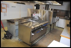 Two new gas stoves // Also new stainless shield on back of ovens