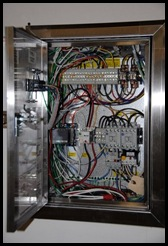 New electrical Panel for the Suppression system