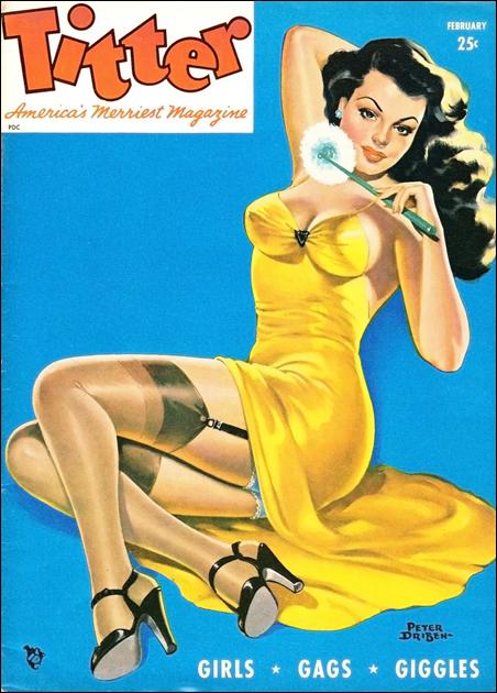 Titter magazine, February 1955.