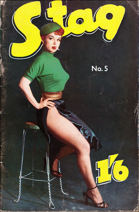 Stag pocket magazine, May 1958