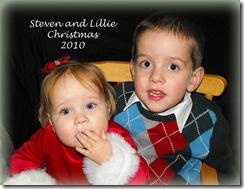 Steven and Lillie Christmas Horizontal