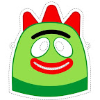 Yo Gabba Gabba! Printable Monster Masks 3.jpg