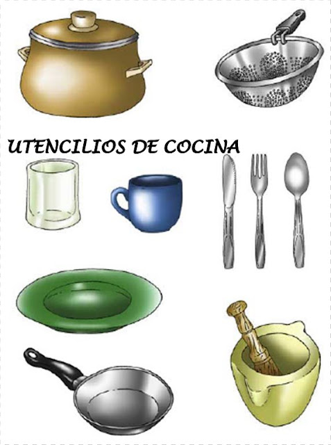 Aprender for Instrumentos de cocina