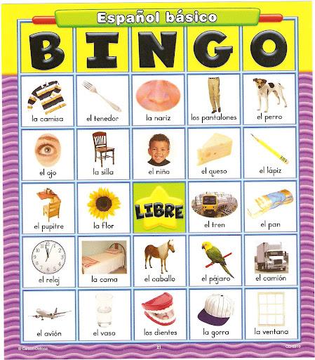 Loterias de silabas para imprimir - Imagui