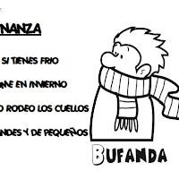 ADIVINANZA BUFANDA
