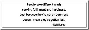 Roads - Dalai Lama