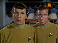 Spock, #5, Kirk, #16