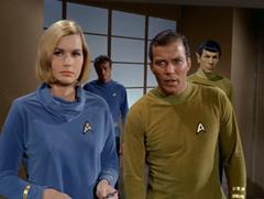 Dehner, Leslie, Kirk, Spock
